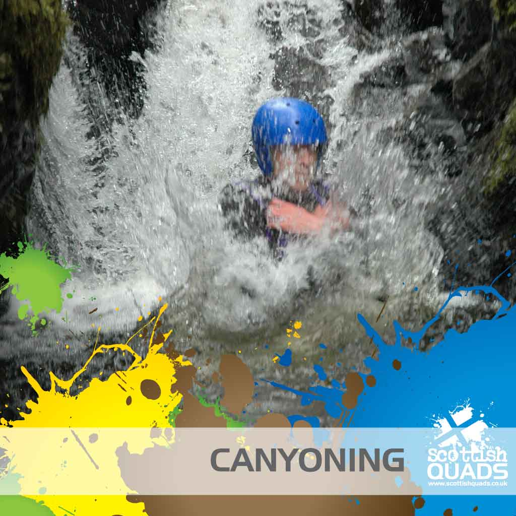 Canyoning Perthshire