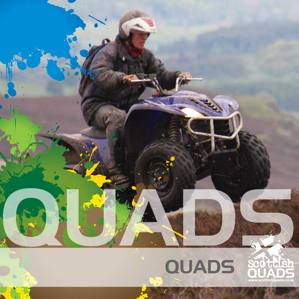 Quad biking with Scottish Quads