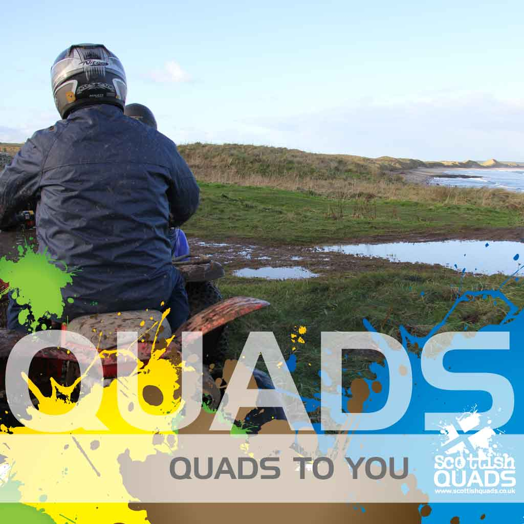 Quad bikes at the beach